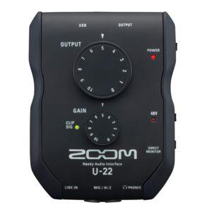 Zoom_U-22_Front
