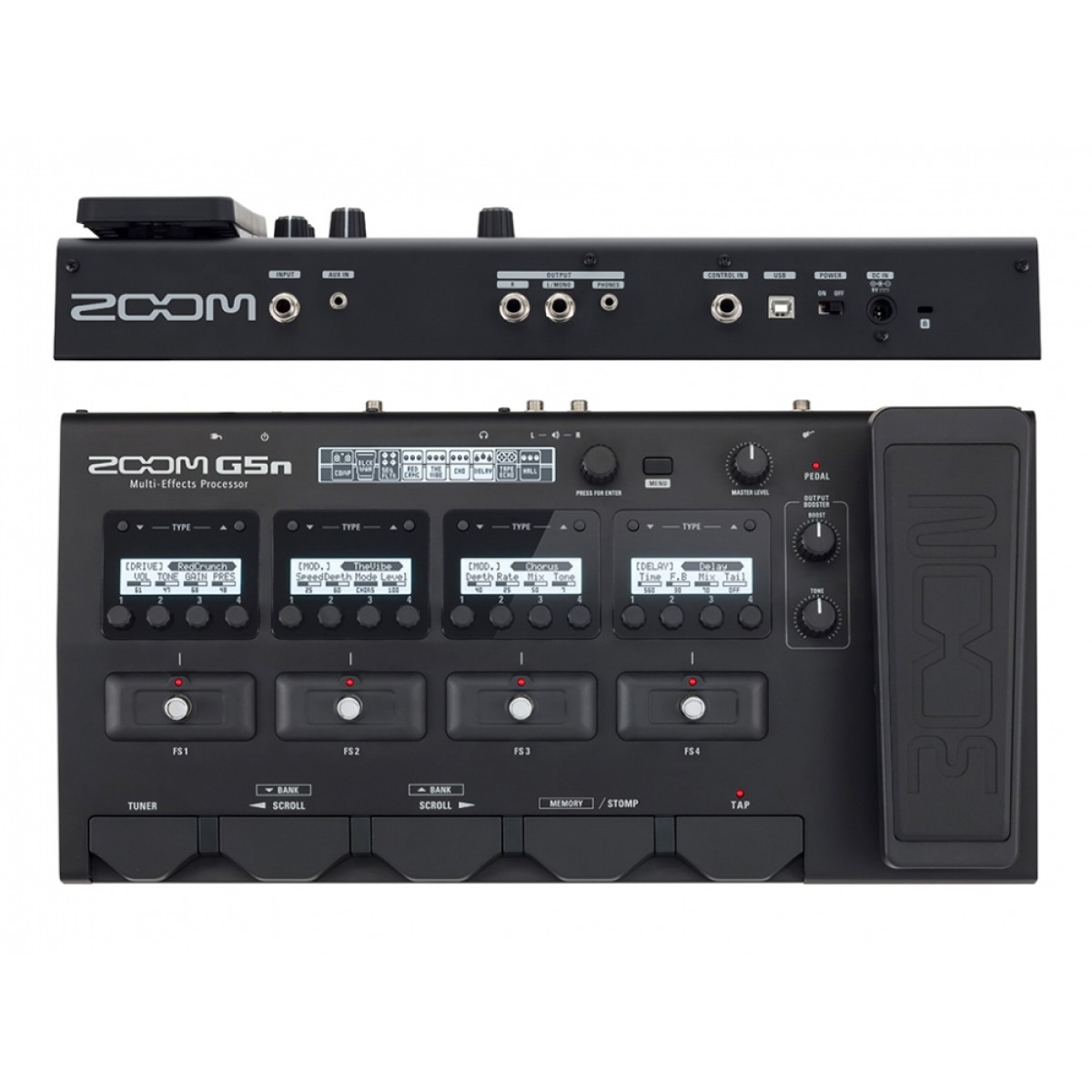 67bf9d793f6e84 G5N Multi-Effects Processor for Guitarists - ZoomAV.co.nz